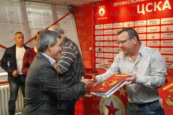 Футбол - представяне на фотоалбум за Юбилея на ЦСКА - 16.04.2018
