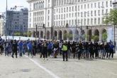 Футбол - шествие на феновете на Левски - 18.04.2018