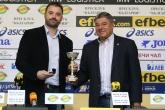 Баскетбол - награждаване  - Людмил Хаджисотиров и БК Рилски спортист 25.04.2018