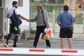 Футбол - Спас Русев на тренировката на Левски преди финала  - 08.05.2018