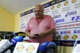 Футбол - президента на Славия - Венци Стефанов след купата на България  - 14.05.2018