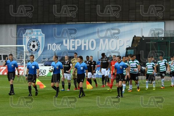 Футбол - 9 ти кръг - Втора осмица - ПФК Черно Море - ПФК Локомотив ПД - 16.05.2018