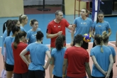 Волейбол - тренировка на женския национален отбор - 17.05.2018