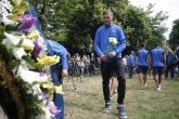 Поднасяне на венци и цветя по случай 104-тата годишнина на ПФК Левски - 24.05.2018