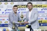 Футбол - награждаване играч на кръга - Клаудио Кешеру - 06.06.2018
