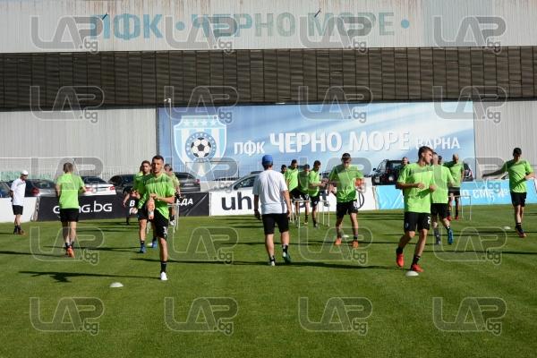 Футбол - Първа тренировка на ПФК Черно Море за новия сезон - 14.06.2018