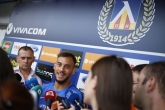 Футбол - Иван Горанов и  Давиде Мариани преди гостуването в Лихтенщайн - 09.07.2018