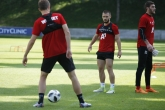 Футбол - тренировка на ПФК ЦСКА преди мача с Рига - 11.07.2018