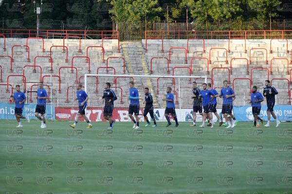Футбол - пресконференция и тренировка на Рига - 11.07.2018