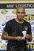 Футбол - награждаване играч на 4 ти кръг - Мауридес - 17.08.2018