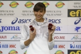 Мирела Демирева - награждаване - спортист на месеца - 05.09.2018