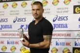 Футбол - награждаване играч на кръга - Валери Божинов - 19.08.2018