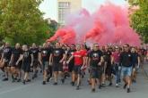 Футбол - Шествие на феновете на ЦСКА преди мача с Ботев Враца - 22.09.2018