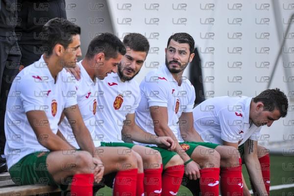 Футбол - Национали - снимки за календар - 10.10.2018