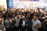 Официален кантар преди боксовата гала - Огън и Ярост - 26.10.2018
