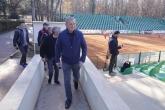 Горан Джокович наблюдава тренировка на млади български тенисисти на Националния тенис център - 11.11.2018