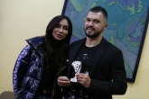 Футбол - награждаване - Валери Божинов - играч на кръга - 10.12.2018