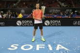 Тенис - ATP 250 - София Оупън 2019 - Единици - Награждаване - 10.02.2019