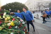 Футболистите на ПФК Левски поднесоха цветя на паметника на Апостола - 19.02.2019