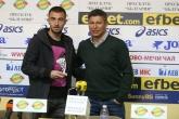 Футбол - награждаване - Даниел Младенов и Красимир Балъков - 20.03.2019