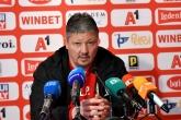Футбол - пресконференция на Любослав Пенев преди мача с Берое - 12.04.2019