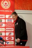 Футбол - пресконференция Любослав Пенев преди мача с Левски -19.04.2019