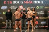 Max Fight - K1 BOX MMA гала вечер - официален кантар - 02.05.2019