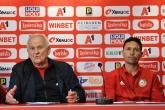Футбол - Пресконференция на Добромир Митов Люпко Петрович и Димитър Пенев преди мача с Лудогорец - 10.05.2019