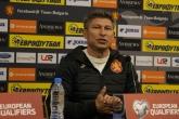 Футбол - пресконференция - Красимир Балъков - 31.05.2019