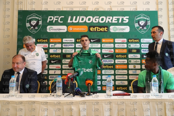 Футбол - ПФК Лудогорец - пресконференция - 11.06.2019