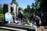 Ръководство и фенове на ПФК Левски почетоха паметта на Гунди и Котков - 30.06.2019