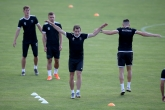 Футбол - Лига Европа - пресконференция и тренировка на МФК Ружомберок - 17.07.2019