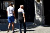 Футбол - Христо Крушарски протестира пред Френското посолство в България - 13.08.2019