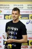 Футбол - награждаване - играч на кръга - Валери Домовчийски - 28.08.2019