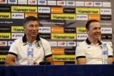 Футбол - пресконференция на старши треньора на България - Красимир Балъков и Антон Велков - 01.09.2019