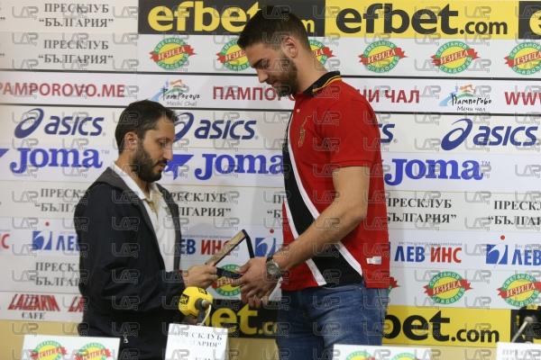 Баскетбол- награда Рачо Колев връчена на Цветомир Чернокожев - 04.10.2019