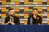 Футбол - пресконференция на националния селекционер на България - Красимир Балъков - 06.10.201