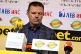 Футбол - пресконференция - Стойчо Младенов - 21.11.2019
