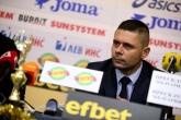 Футбол - награждаване - Александър Димитров  и националите У21 - 13.12.2019