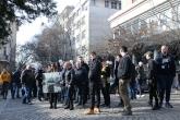 Футбол - Фенове на Ботев ПД на протест пред гръцкото посолство - 25.01.2020