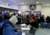 Футбол -  Опашка за абонаментни карти на Левски -   11.02.2020