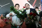 Борба - Едмон Назарян и Даниел Александров след ЕП по борба в Рим - 13.02.2019