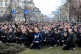 Футбол - шествие на феновете на ПФК Левски преди мача на ЦСКА - 15.02.2020