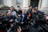Футболисти и фенове на ПФК Левски поднесоха цветя пред паметника на Васил Левски - 19.02.2020