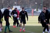 Футбол - пресконференция и тренировка на националите преди мача с Беларус - 25.02.2020