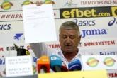 Футбол - кандидатура за президент на БФС - Христо Христов - 29.06.2020