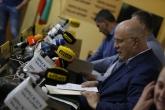 Волейбол - пресконференция - подписване на договор програмата Играй с развитие - 29.06.2020