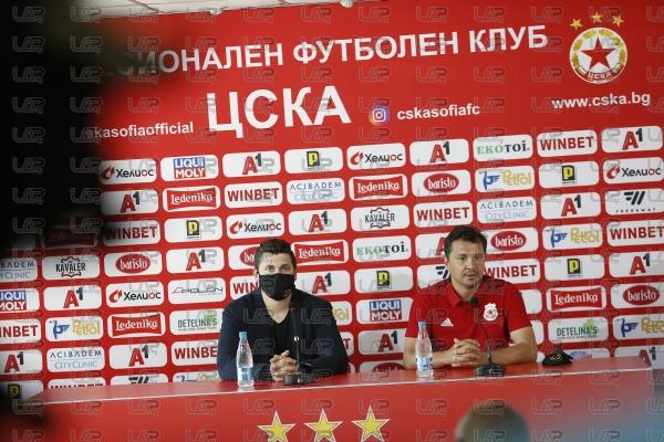 Футбол - пресконференция - Милош Крушчич преди финала с Локомотив ПД - 30.06.2020