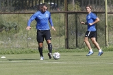 Футбол - Валери Божинов  и Матео Стаматов тренират с ПФК Левски - 06.08.2020