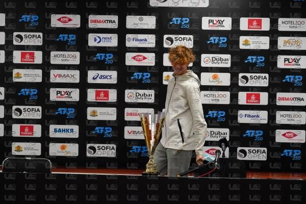 Тенис - София Оупън 2020 - АТП 250 -Финал - Пресконференция на Яник Синер - 14.11.2020